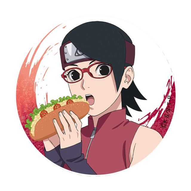 【4589839345941】BORUTO【描き下ろし】缶バッジ サラダ