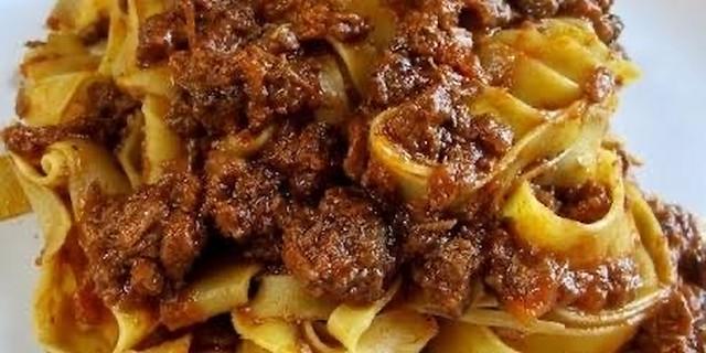 茹でたパスタと合わせるだけ!!イタリア家庭の味 ひき肉たっぷりボロネーゼ 自家製パスタソース  6パックセット