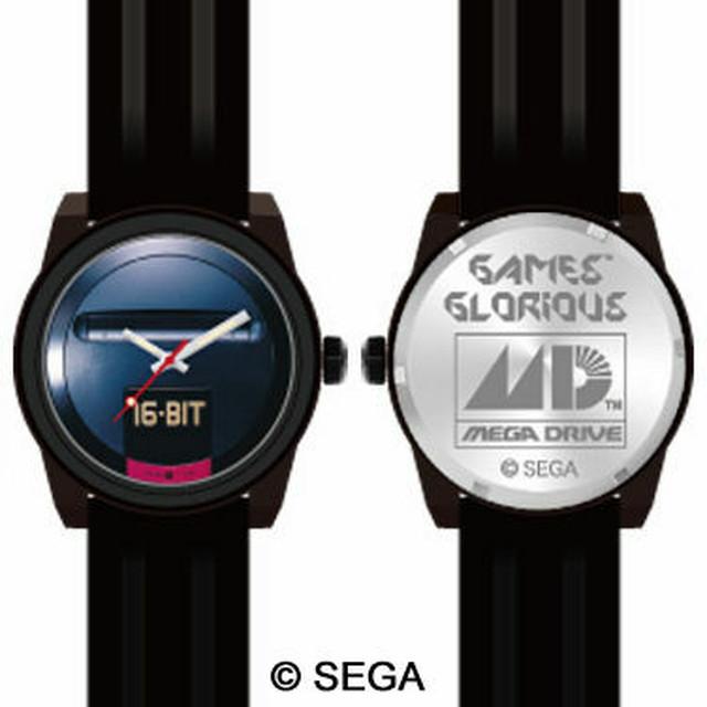 メガドライブ 16-BIT 腕時計 / GAMES GLORIOUS