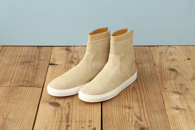 BACK ZIP SNEAKERS (SUEDE)