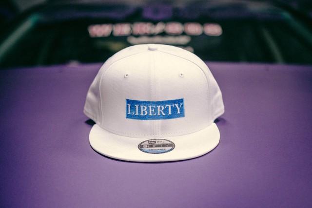LIBERTY CAP NEWERA ホワイト×ライトブルー