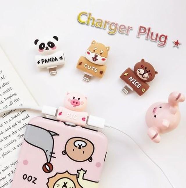プラグ Charger Plug 充電と音楽を同時に かわいい X XR XSMAX