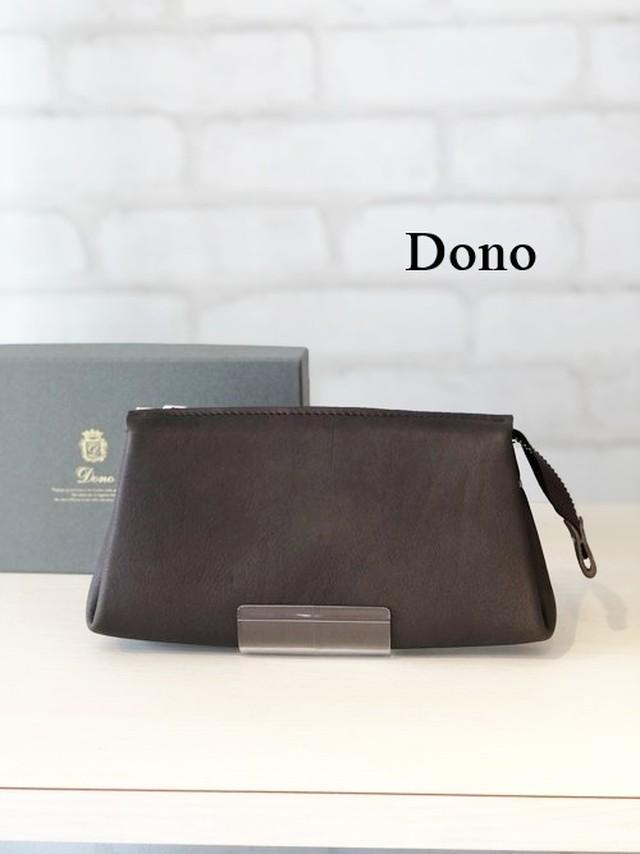 Dono(ドーノ)/ポーチウォレットL/01216(モカ)