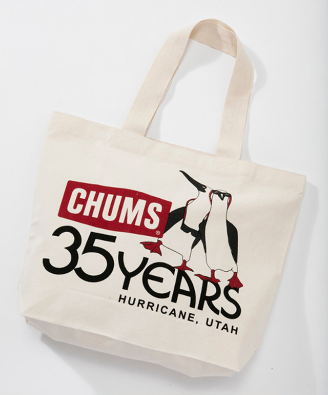 CHUMS(チャムス) 35th Anniversary Tote Bag (35thアニバーサリートートバッグ) 35thBoobies CH60-2516