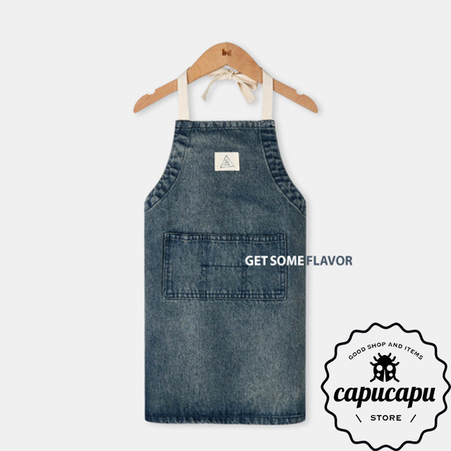 [sold out] get some flavor Denim Apron デニムエプロン
