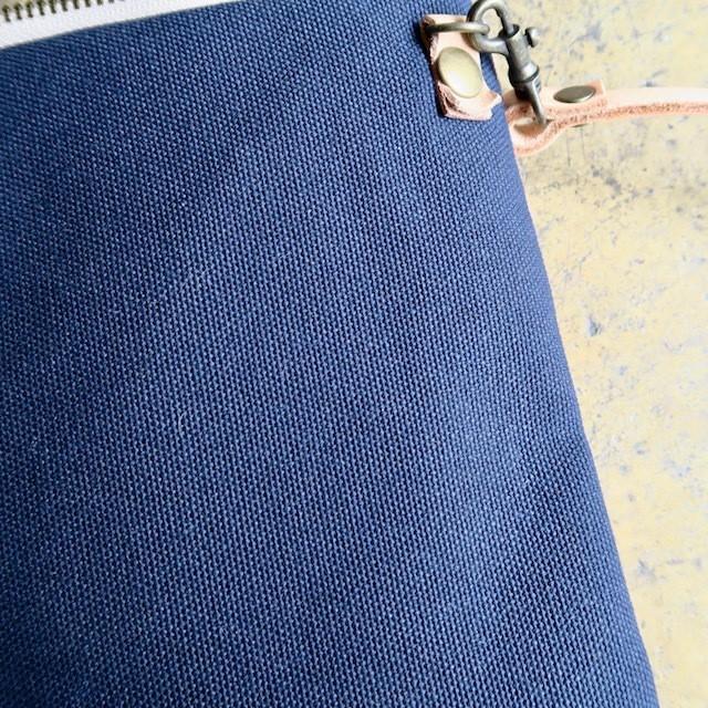 手織りと帆布 2WAYショルダーポーチ
