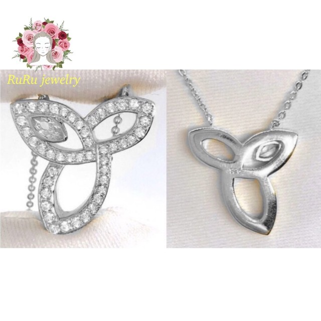 s925 lily(necklace)