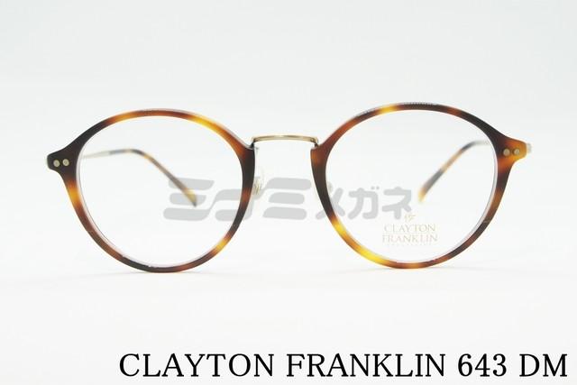【正規取扱店】CLAYTON FRANKLIN(クレイトンフランクリン) 606 GP/BK