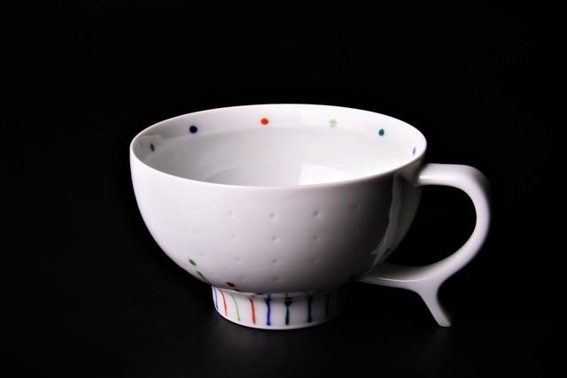 スタンドハンドルスープカップ 波佐見焼