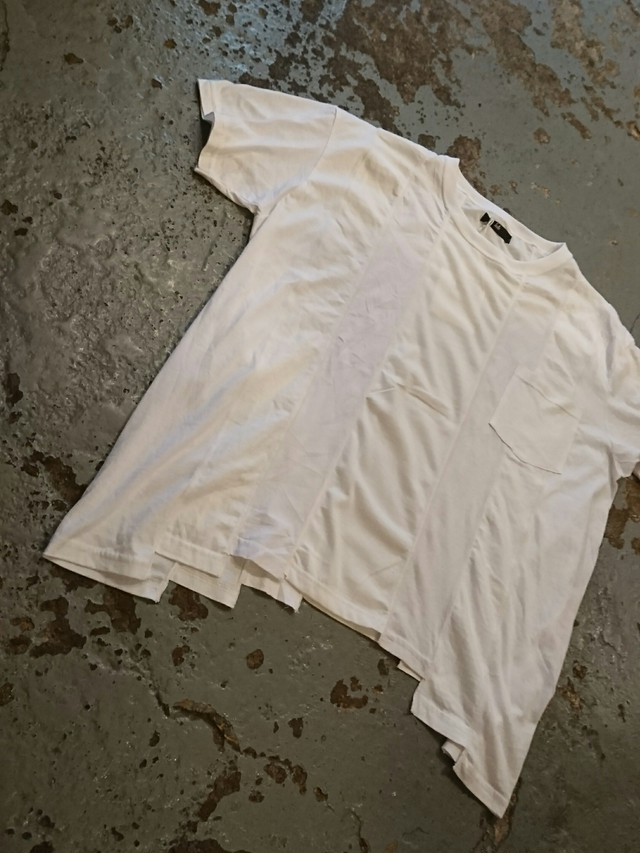 "ink ""LOOSE TEE"" WHITE COLOR"