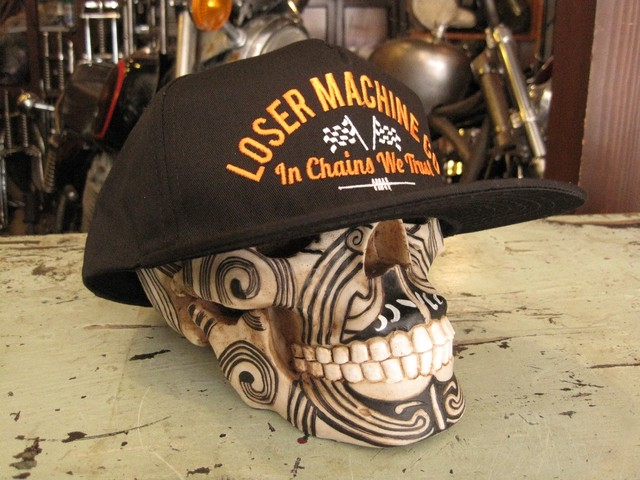 LOSER MACHINE  CAP  GREYHOUND
