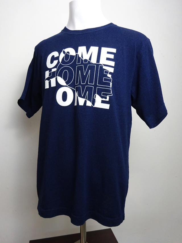 【Wild West Tokyo】青梅ブルーTシャツ COMEHOMEOME (3990-586)
