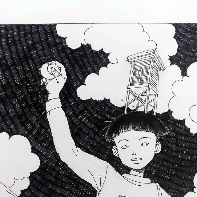 菅原睦子|「百葉箱の冠」