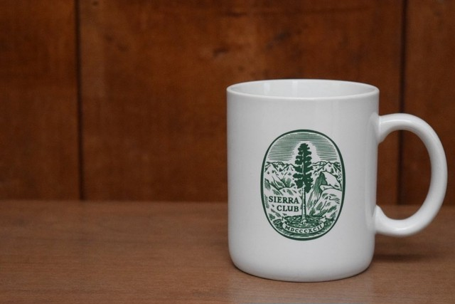USED SIERRA CLUB Coffee Mug 0863