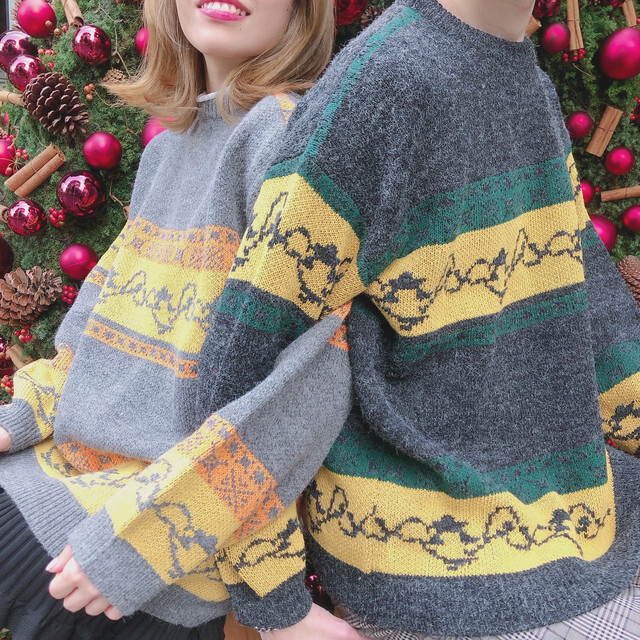 holiday couple knit ZR2102