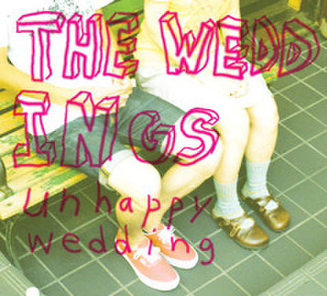 【CD】THE WEDDINGS 「unhappy wedding」 [SR-06]
