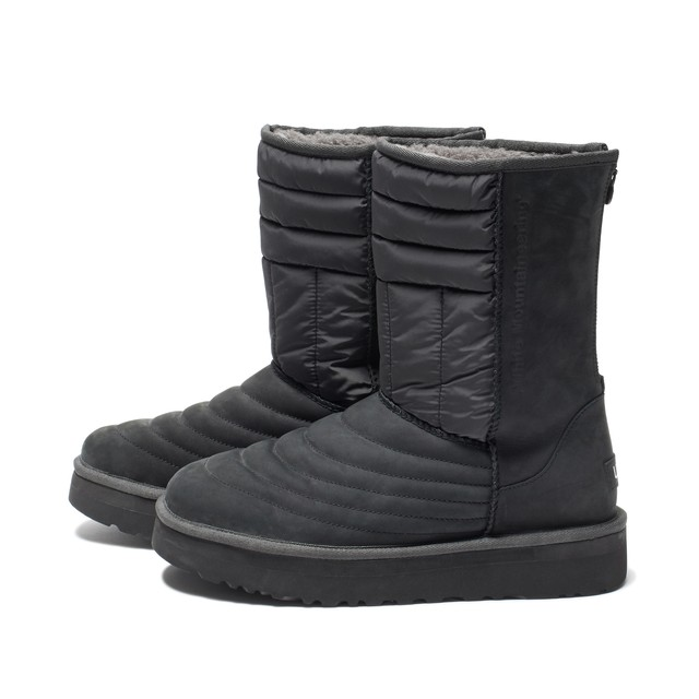 WM×UGG MOUTON QUILTED BOOTS - GRAY