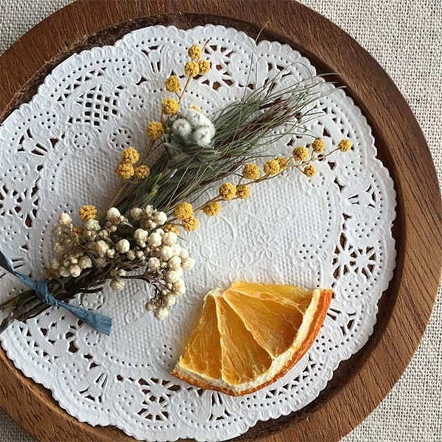 小さな花材セット |イエロー