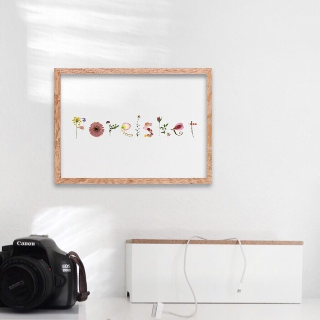 Forelsket / C018 / 透明ポスター
