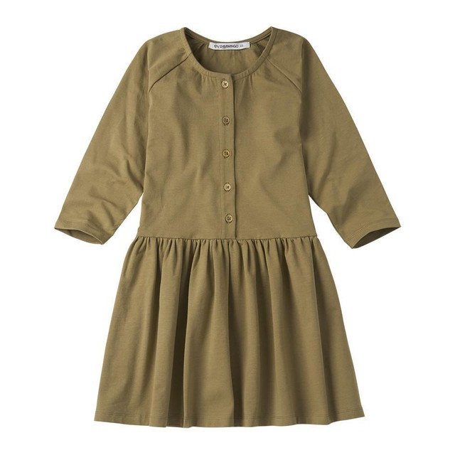 MINGO. / BUTTON DRESS[OAK]