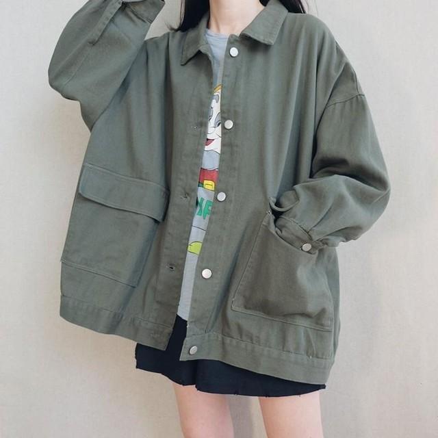 ストリートガールのツーリングジャケット