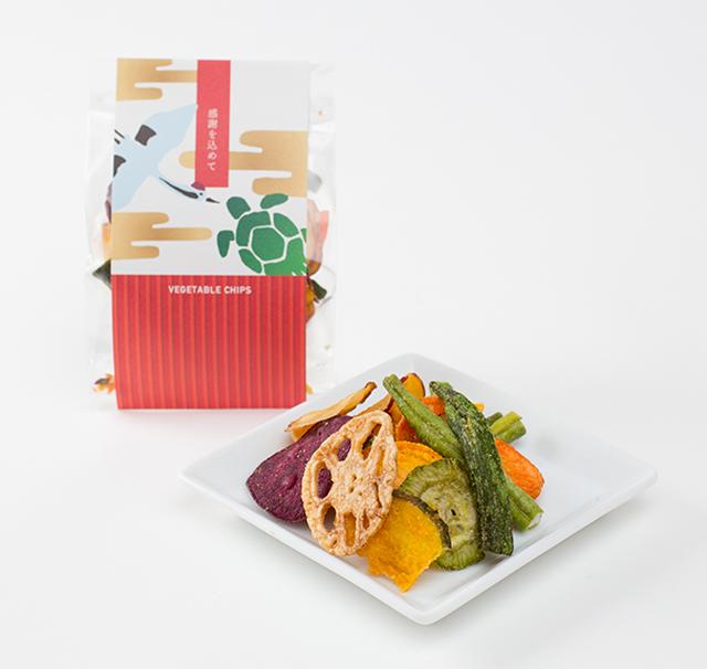 【受注生産商品 10個単位】 ベジタブルチップス(和タイプ)