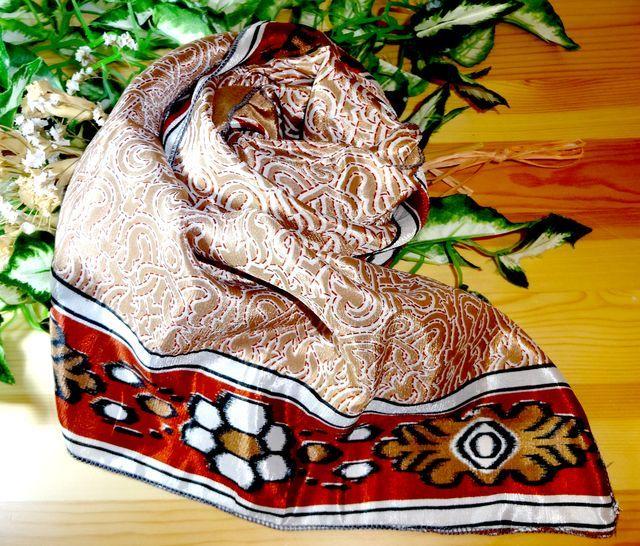 saris-021 シルクサリー スクエアショール