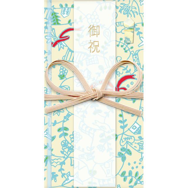 ひびのこづえ 祝儀袋HANA / 幸せをつなぐ枝 花結び お礼・ご挨拶・記念・行事用 POL103