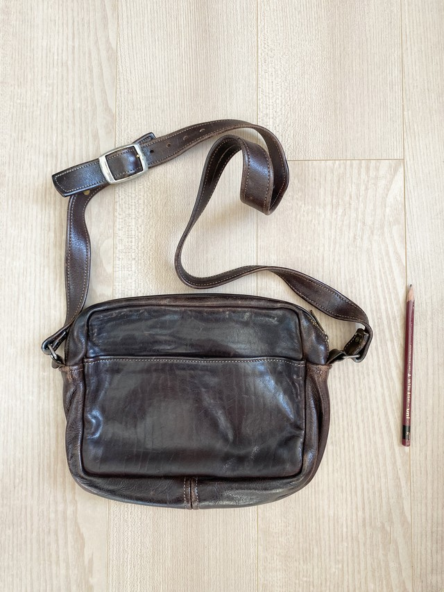 used leather bag No.008「閃光ロジスティクス」
