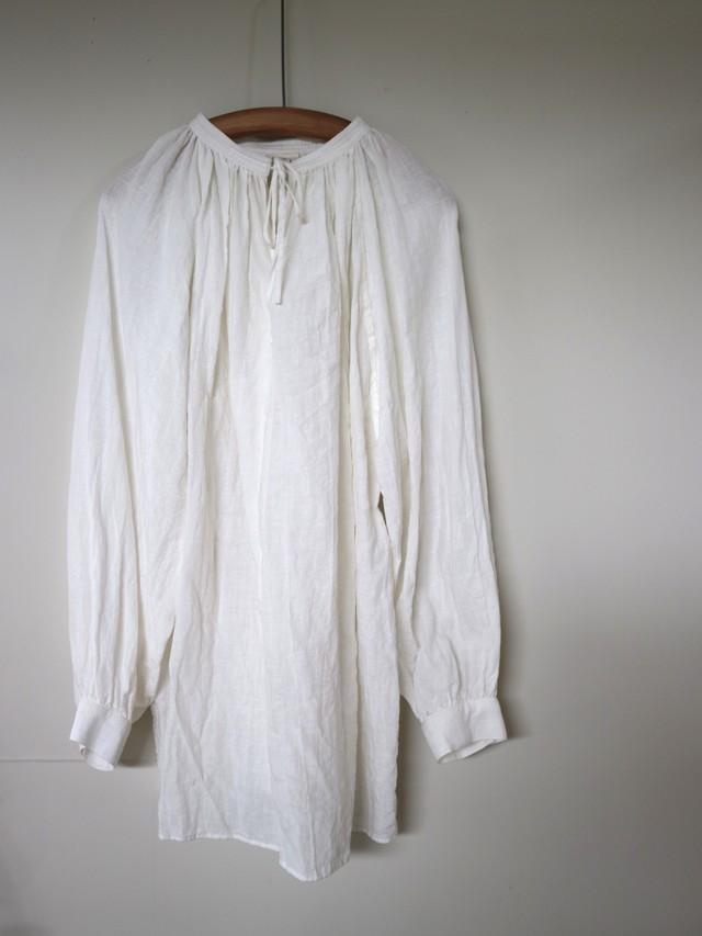 gather smock blouse