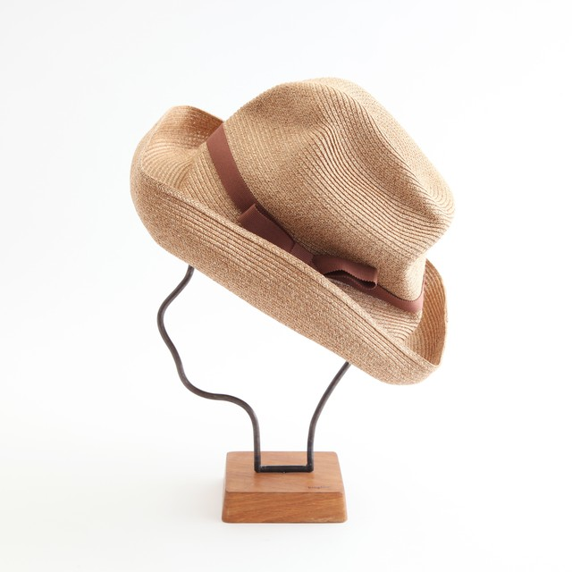 mature ha./BOXED HAT 101 mixbrown×cocoa