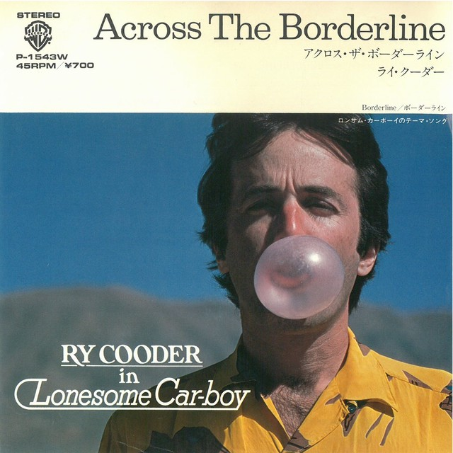 RY COODER / ACROSS THE BORDERLINE (EP) 日本盤