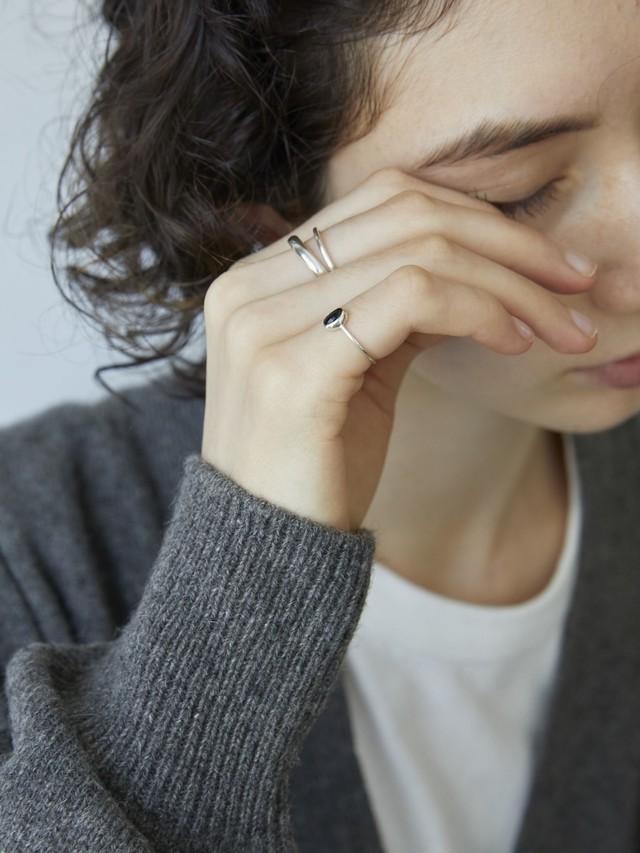 classic tiny gem ring -onyx-(再入荷)