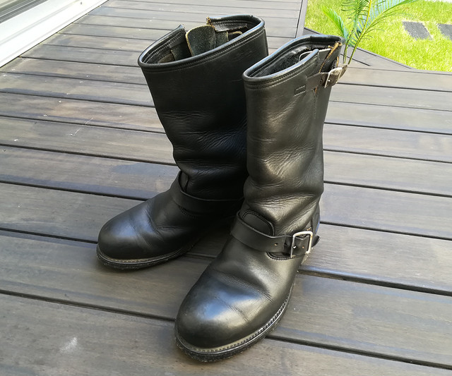 70s Deadstock WORK BOOTS KNAPP SHOES 8EE