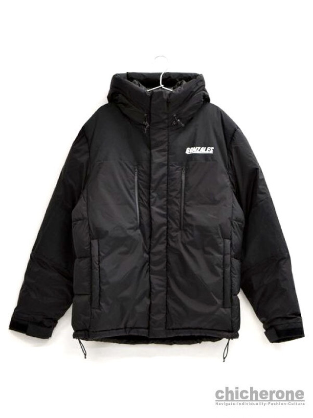 【MARK GONZALES】HOODED PUFFY JACKET PURPLE