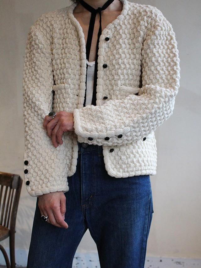 70s knit jacket