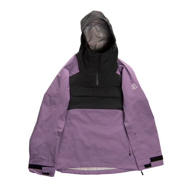 <予約商品>来期モデル2022unfudge snow wear // SMOKE ANORAK // PURPLE