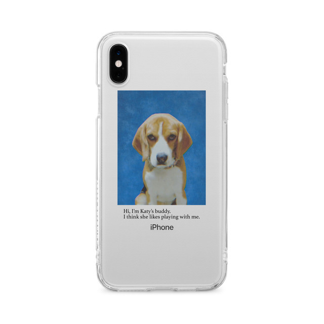Katy's Dog iPhone Case