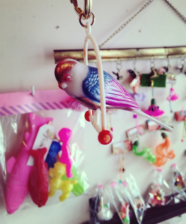 bird key chain