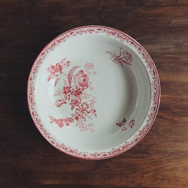 "Sarreguemines ""FONTANGES"" deep plate"