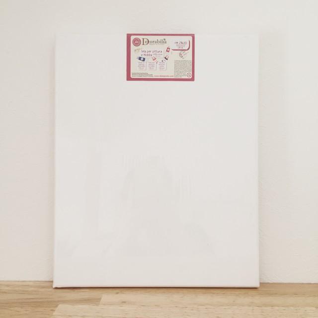 【スタンペリア】コットンのキャンバス 24cm×30cm デコパージュ用 インテリアボード