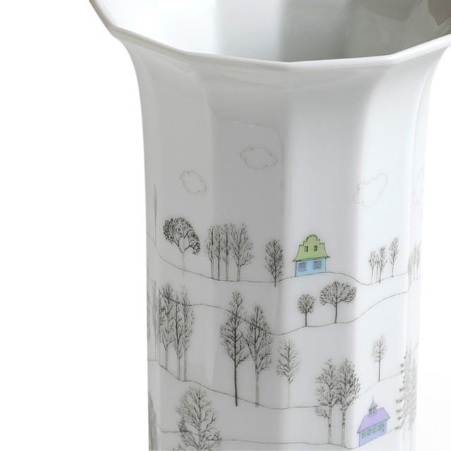 Rosenthal ローゼンタール Rut Bryk ルート ブリュック Winter Journey 190mm 花瓶 ヴィンテージ