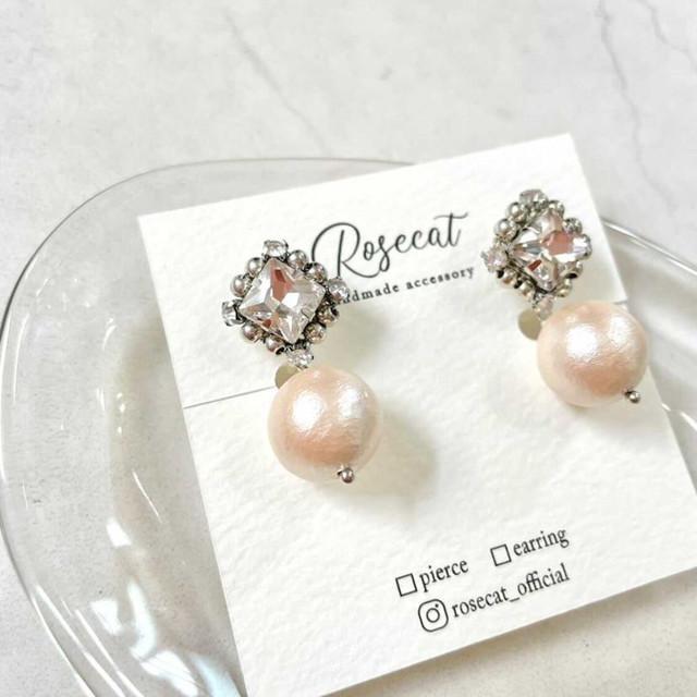 Linaria earring【RH0002】