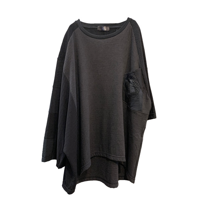 Wide-T-shirts mut 2(black)
