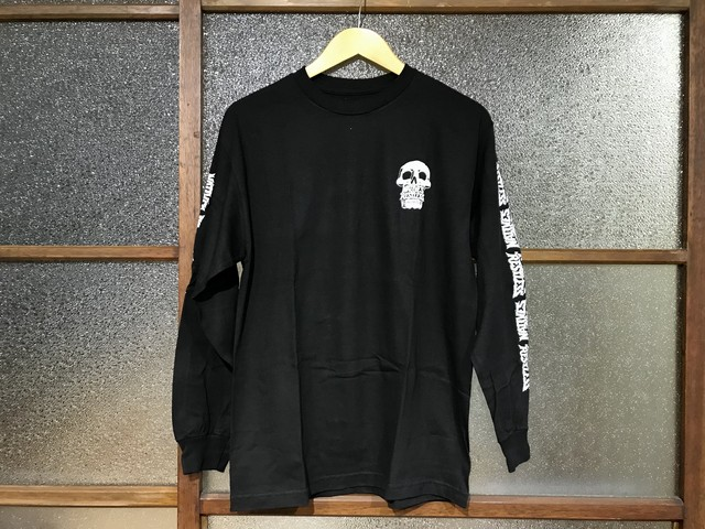 "KICKS/HI ""NATIVES"" L/S TEE (BLACK/WHITE)"