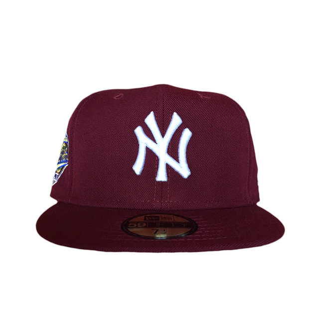 Sale NEW ERA New York Yankees 1996 World Series 59Fifty Fitted / Burgundy×White