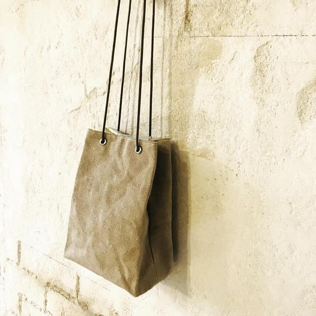 milk bag    linen
