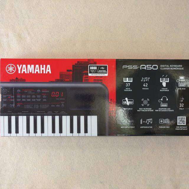 【YAMAHA】ヤマハ ポータブルキーボード PSS-A50 37鍵盤 新品 ミニキーボード