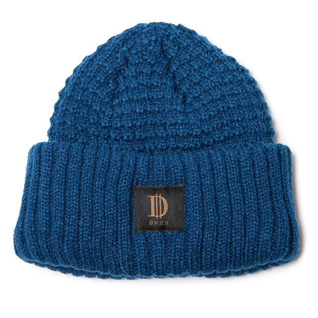 【Deviluse | デビルユース】D Roll Beanie(Blue)