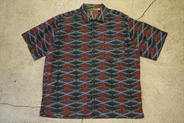 USED patagonia S/S A/C shirt S0345